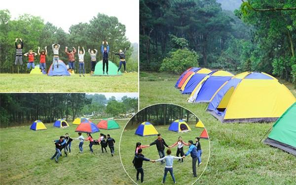 Gần Hà Nội có địa điểm cắm trại nào đẹp? Những địa điểm cắm trại hấp dẫn, giá rẻ và an toàn khi cắm trại qua đêm ở Hà Nội cực hấp dẫn