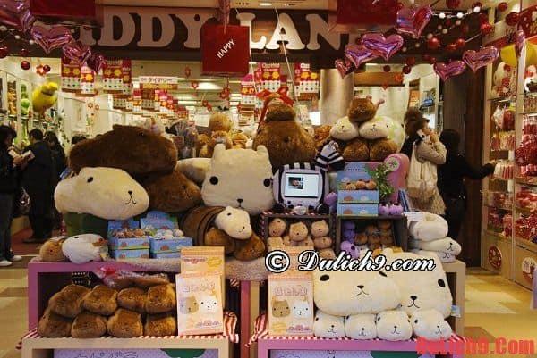 Những lưu ý chung khi mua sắm ở Nhật Bản