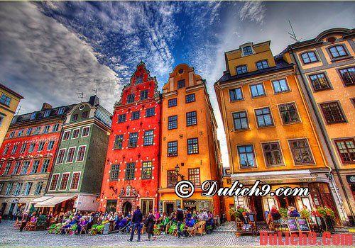 Gamla Stan - Địa điểm mua sắm nhộn nhịp của Thụy Điển