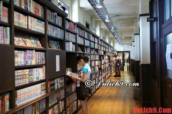 Bảo tàng truyện tranh quốc tế ở Kyoto