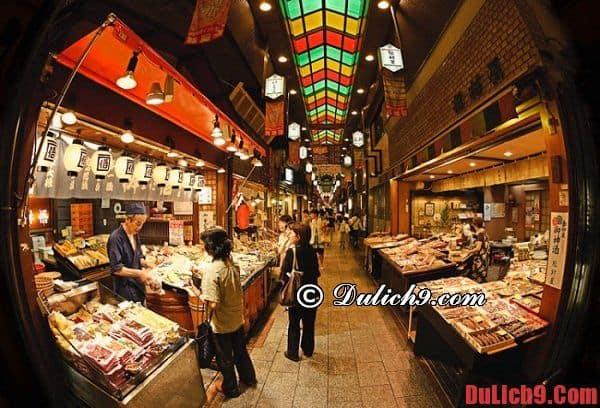 Chợ Nishiki và cách di chuyển