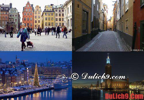 Điểm du lịch hấp dẫn ở Thụy Điển