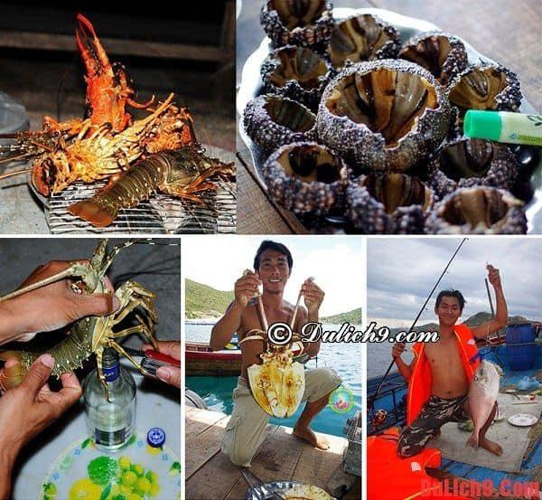 Du lịch đảo Bình Ba nên thưởng thức đồ ăn vặt gì?
