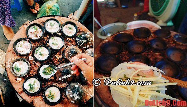 Bánh căn - Món ăn vặt không thể không ăn khi du lịch đảo Bình Ba giá rẻ, vui vẻ ăn uống