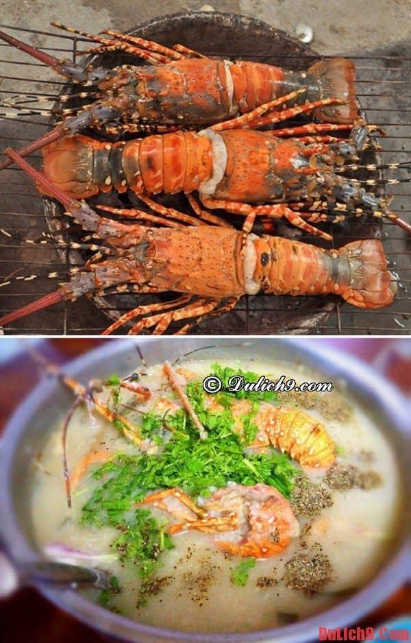 Tôm hùm - Món ngon nổi tiếng phải thử khi du lịch đảo Bình Ba tự túc ăn uống
