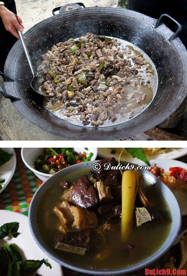 Thắng cố - Món ăn đặc sản không thể không ăn khi du lịch chợ phiên Bắc Hà