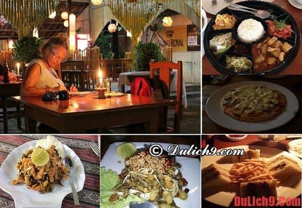Những quán ăn giá rẻ và chất lượng nên đến khi du lịch Bagan tự túc
