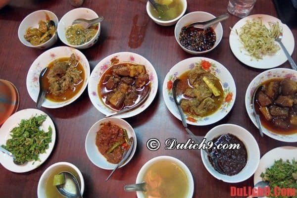 Địa chỉ nhà hàng thưởng thức buffet truyền thống Myanmar khi du lịch Bagan tự túc, giá rẻ