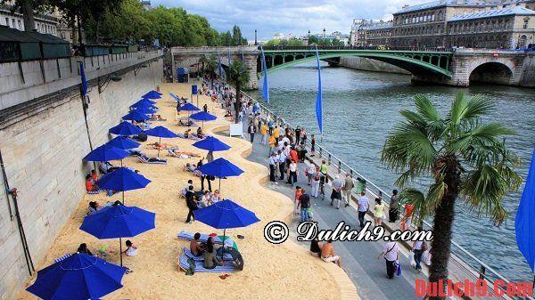 Du lịch Paris tự túc và tiết kiệm bằng cách tham gia các sự kiện miễn phí