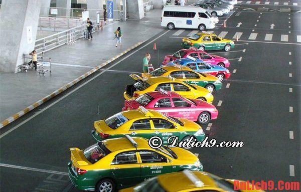 Đi taxi từ Bangkok tới Pattaya