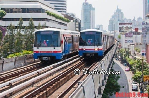 Cách di chuyển từ Bangkok tới Pattaya bằng tàu hỏa - Kinh nghiệm đi Pattaya từ Bangkok giá rẻ