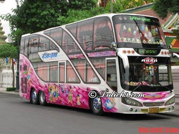 Hướng dẫn đi từ Bangkok tới Pattaya bằng xe bus - Kinh nghiệm đi Pattaya từ Bangkok giá rẻ