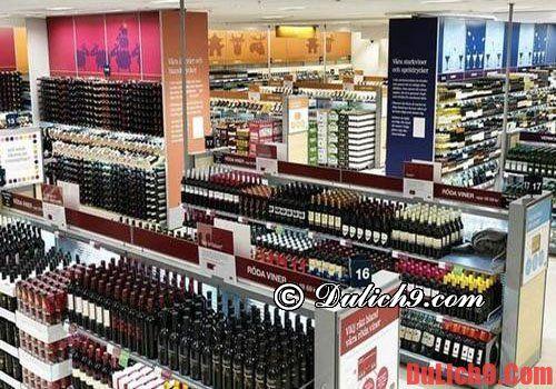 cần biết mua rượu mạnh ở đâu khi du lịch Thụy Điển