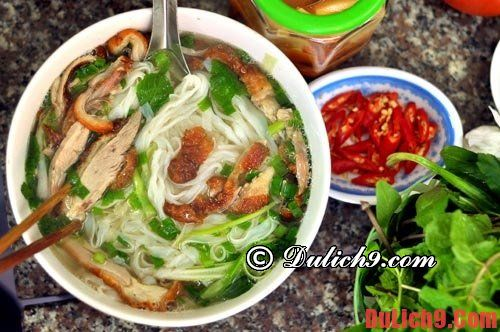 The attractive duck noodle shops cannot help but come when traveling to Lang Son