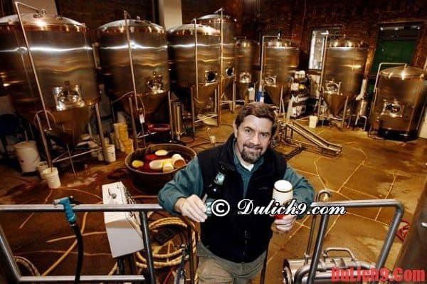 Tham quan Nhà máy bia Brooklyn
