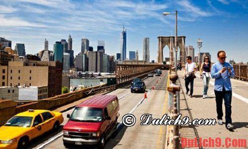 Đi dạo trên Cầu Brooklyn