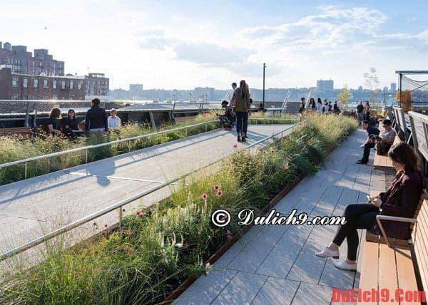 Công viên High Line - điểm du lịch miễn phí ở New York