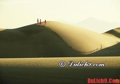Địa điểm du lịch Đồi cát Nam Cương  Ninh Thuận