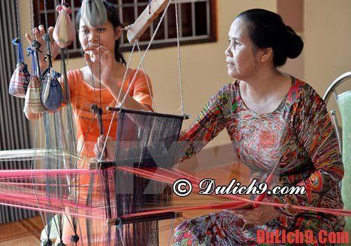 Điểm đến làng nghề dệt thổ cẩm Ninh Thuận
