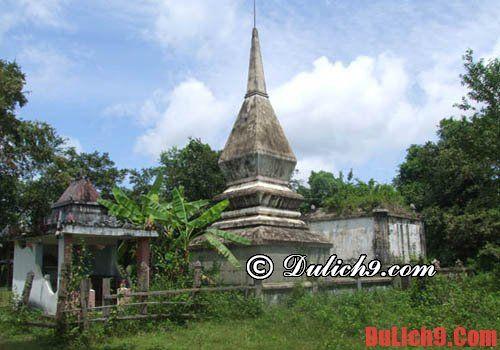 Mộ vua săn bắt Voi (Khunjunob) - địa điểm tham quan lịch sử Đăk Lăk