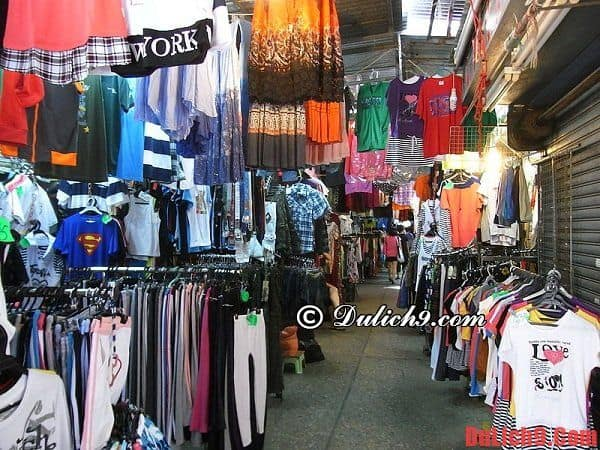 Những khu mua sắm giá rẻ nổi tiếng nên đến khi du lịch Hồng Kông