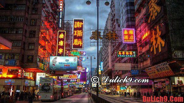 Nêm mua sắm đồ lưu niệm ở đâu khi du lịch Hồng Kông?
