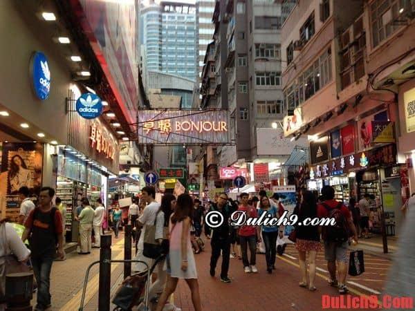 Những khu vực mua sắm bình dân nên đến khi du lịch Hồng Kông