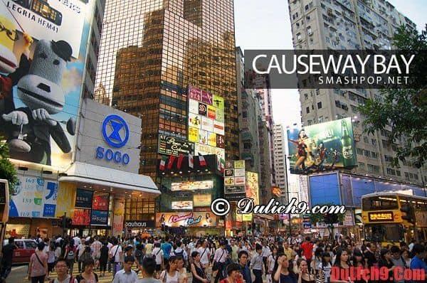 Du lịch Hồng Kông nên mua sắm ở đâu?