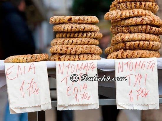 Ăn gì, ở đâu khi du lịch Athens/ Thưởng thức đặc sản Athens - Kinh nghiệm du lịch Athens