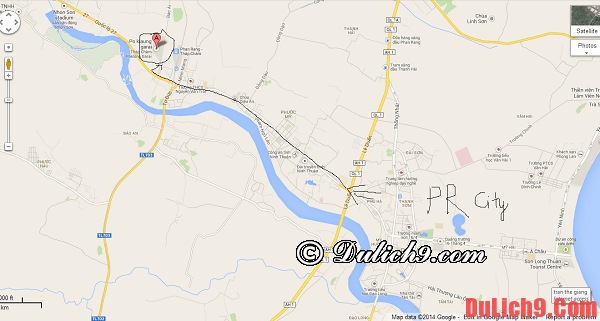 Hướng dẫn du lịch bụi Phan Rang - Tháp Chàm 3 ngày 2 đêm. Hướng dẫn đường đi du lịch Phan Rang Tháp Chàm tự túc, thuận lợi