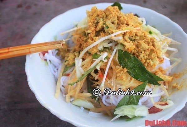 Bún kèn: Những món ngon, đặc sản nổi tiếng ở Hà Tiên