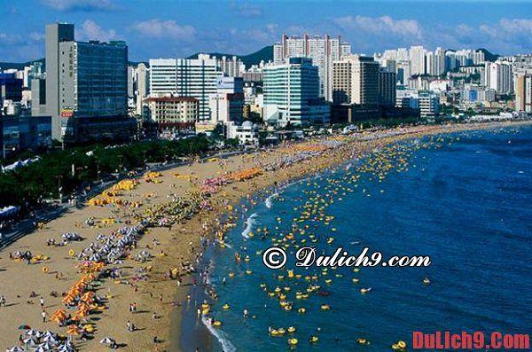 Du lịch Hàn Quốc mùa hè - Trải nghiệm vui vẻ và thích thú tại các bãi biển và đảo