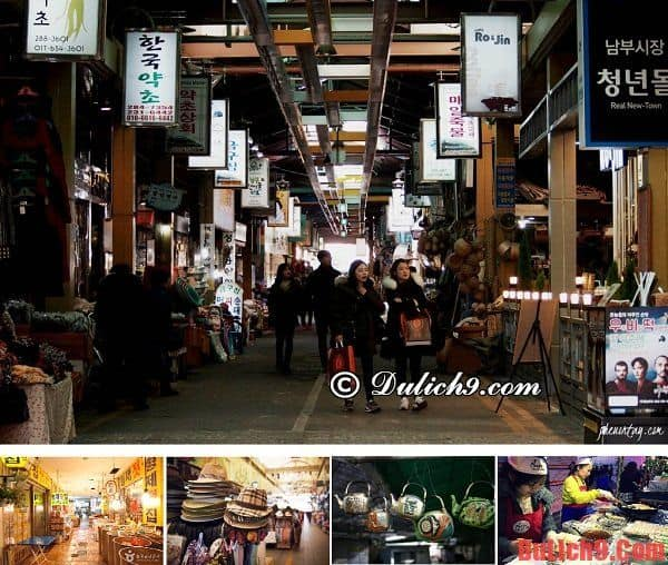 chợ truyền thống Jeonju Nambu - Khu chợ không thể bỏ qua khi du lịch Hàn Quốc