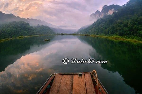 Địa điểm tham quan khi du lịch sinh thái hồ Ba Bể