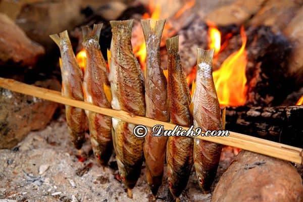 Món ăn độc đáo khi du lịch sinh thái hồ Ba Bể
