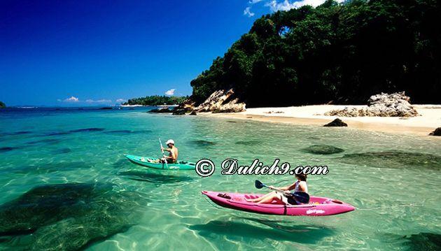 Địa điểm tham quan ở Krabi Ao Nang/ Đi đâu, chơi gì khi du lịch Krabi?