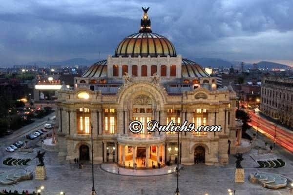 Kinh nghiệm du lịch Mexico