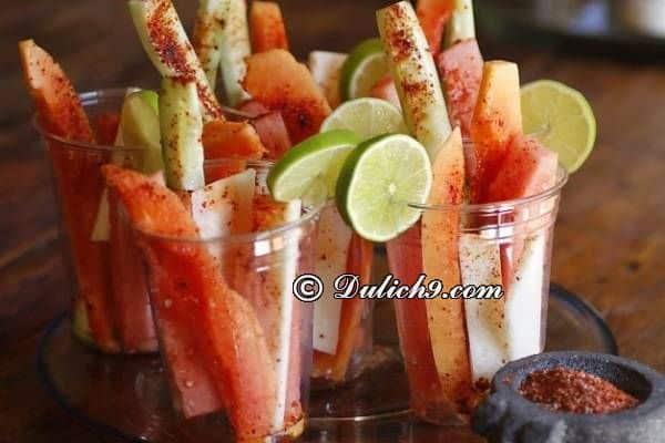 Ăn gì khi du lịch Mexico/ Thưởng thức đặc sản, món ngon ở Mexico - Kinh nghiệm du lịch Mexico