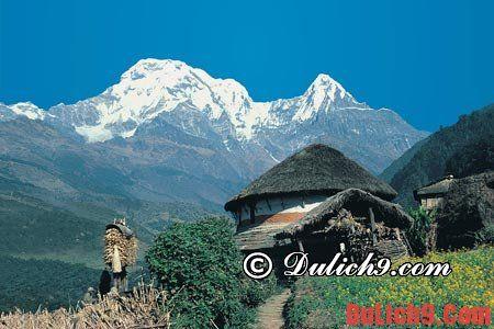 Những địa danh nổi tiếng ở Nepal - Kinh nghiệm du lịch Nepal tự túc, giá rẻ. Địa điểm du lịch nổi tiếng ở Nepal