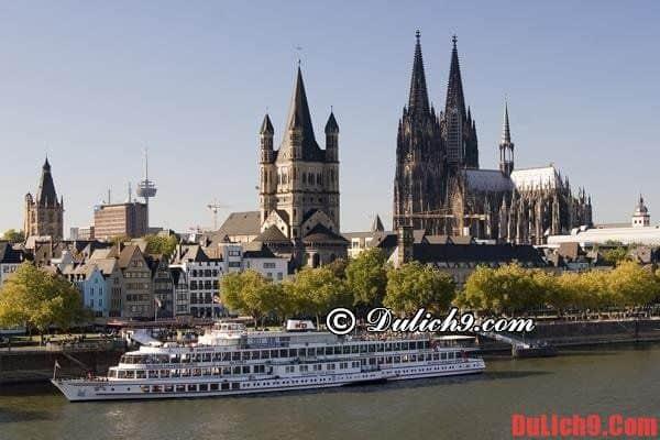 Thành phố Berlin, Đức - du lịch giá rẻ ở châu Âu