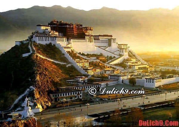 Thủ phủ Lhasa, Tây Tạng: Địa chỉ mua sắm không thể không tới khi du lịch Tây Tạng
