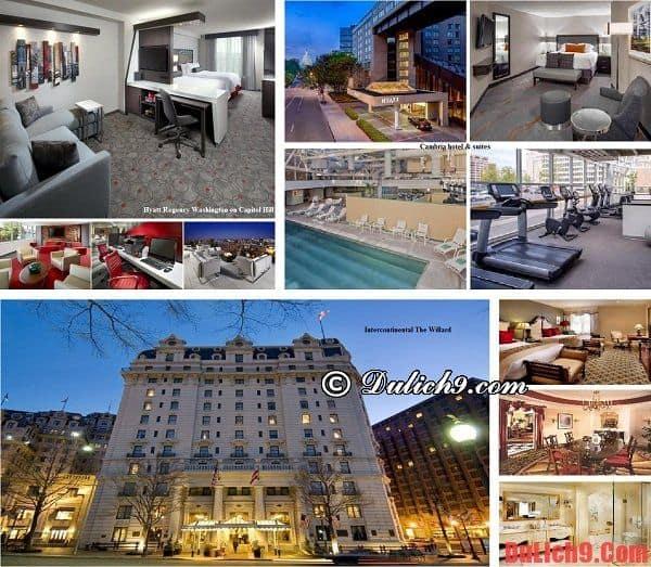 Những khách sạn cao cấp đẹp, chất lượng tốt và tiện nghi nên ở khi du lịch Washington