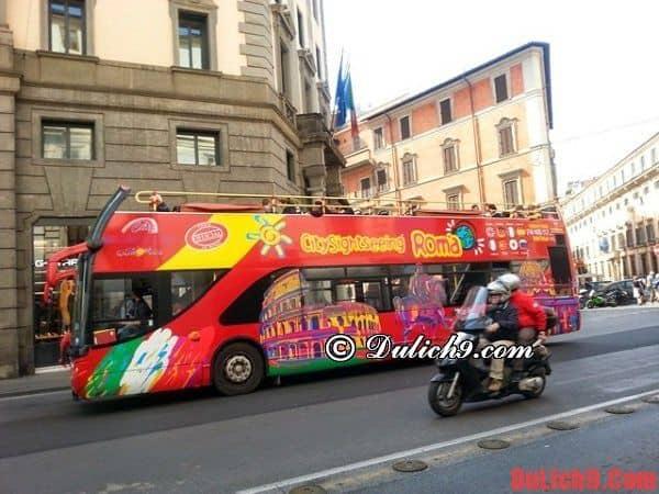 Nên tham quan, du lịch Ý bằng phương tiện nào thuận lợi và tiết kiệm nhất?