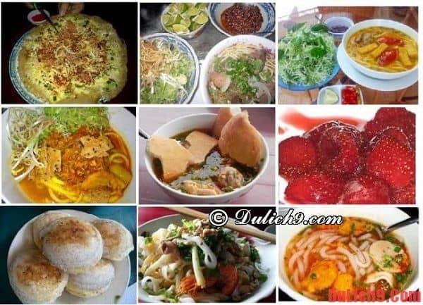 Nên ăn gì  và những địa chỉ ăn uống ngon, bổ và rẻ ở Bảo Lộc?