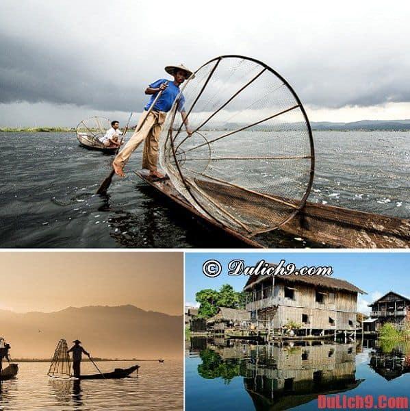 Hướng dẫn du lịch hồ Inle (Myanmar) 2 ngày tự túc, suôn sẻ và thú vị