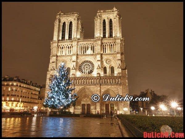 Chặng 1: BVJ Louvre – Nhà thờ Đức Bà – khu Saint Michel