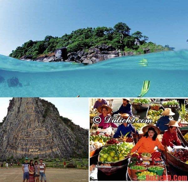Nên đi đâu khi du lịch Pattaya đẹp và thuận tiện, miễn phí tham quan? Kinh nghiệm du lịch Pattaya