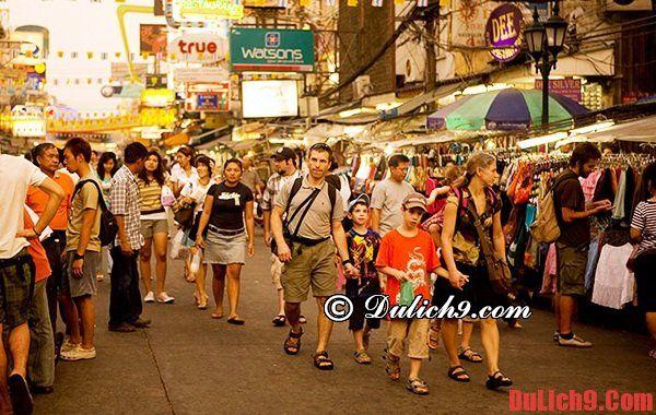 Hướng dẫn du lịch Pattaya tự túc - kinh nghiệm mua sắm