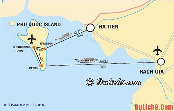 Cách di chuyển từ Hà Nội tới đảo Phú Quốc an toàn và nhanh. Hướng dẫn cách đi chuyển đến đảo Phú Quốc