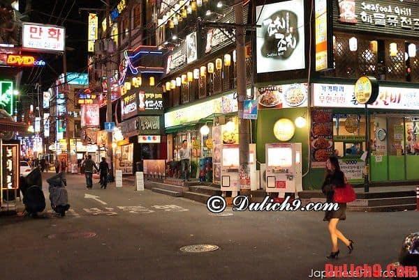 Kinh nghiệm thuê khách sạn ở Seoul. Hướng dẫn, tư vẫn lịch tình du lịch Seoul